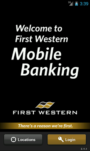 First Western Mobile Banking