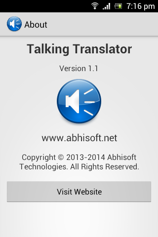 Talking Translator Pro- screenshot