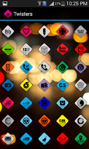 Twisters Icon Pack v1.0.3