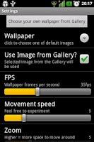 Screenshot of 3D gyro Deep3D  parallax
