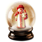 aiCrystalBall Snowman