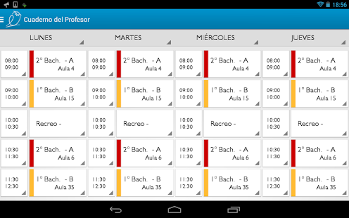 Teacher's Notebook Lite- screenshot thumbnail