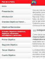 Screenshot of Plan de la Patria Venezuela