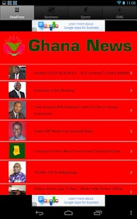 Ghana News - screenshot thumbnail