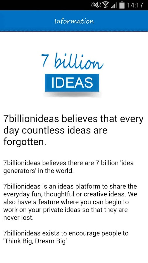 7billionideas- screenshot