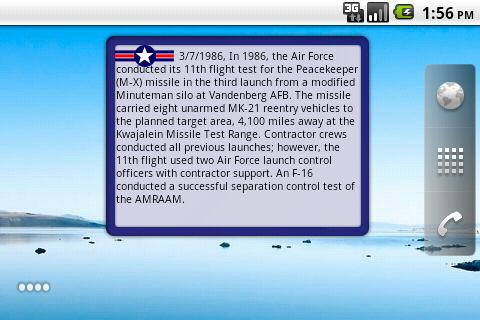 Air Force Military History- screenshot