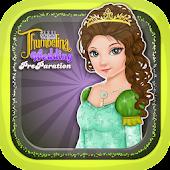 Fairy tale Thumbelina Makeup