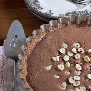 Chocolate Hazelnut Pie.