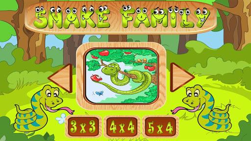 七巧板游戏 - 蛇