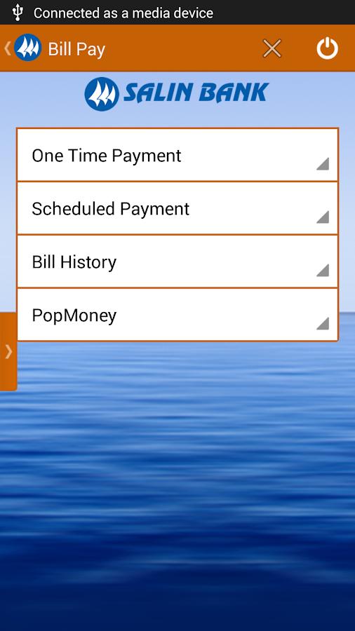 Salin Bank Mobile Banking - screenshot