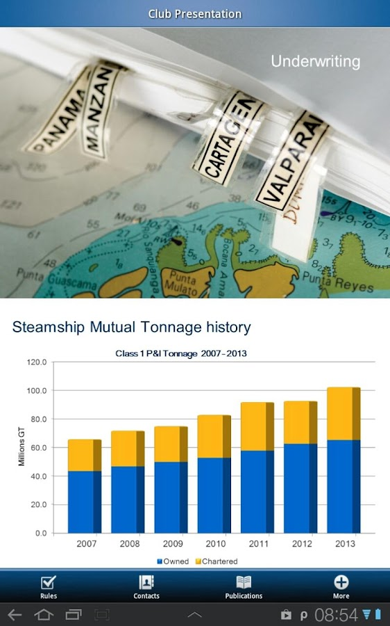 Steamship Mutual- screenshot
