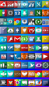 Teneris Icon Launcher Theme v2.0