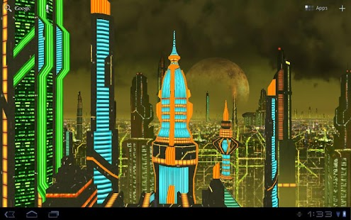 Space City Colony 3D LWP