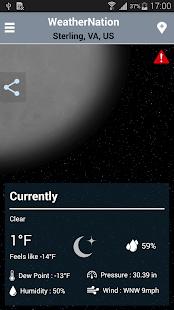 WeatherNation - screenshot thumbnail