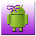 ADW Theme MissDroid Purple logo