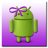 ADW Theme MissDroid Purple