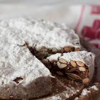 Panforte, a spicy Christmas cake from Siena.