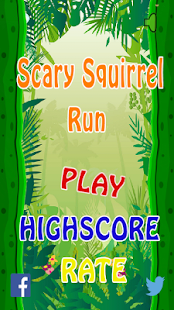 Scary Squirrel Run