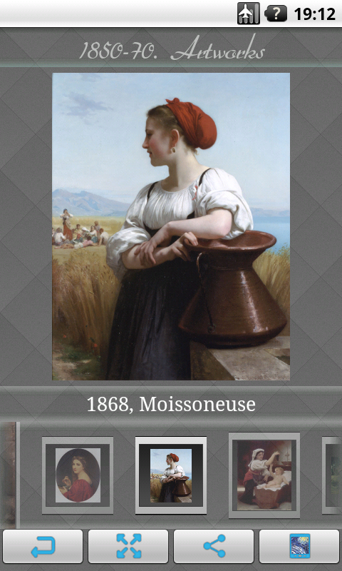 William-Adolphe Bouguereau Art - screenshot