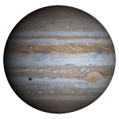 Jupiter Sticker
