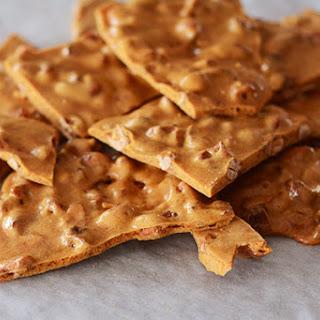 Maple-Spice Cashew Brittle