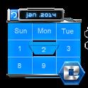 3D CALENDAR-COMET 3D LAUNCHER icon
