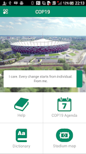 COP19 Mobile Guide- screenshot thumbnail