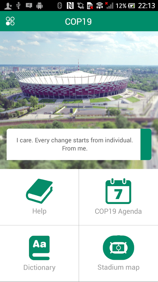 COP19 Mobile Guide- screenshot