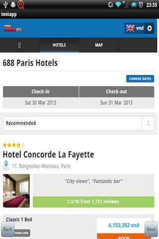 Hotel Booking Comparison