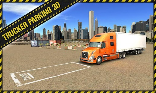 Trucker Parking 3D: miniatura de captura de pantalla