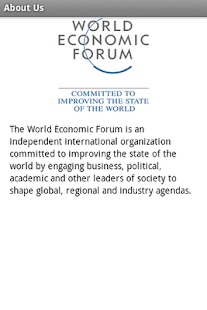 World Economic Forum - screenshot thumbnail
