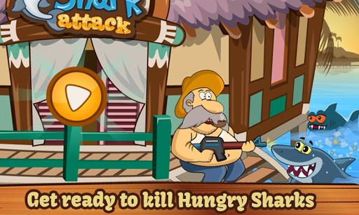 鯊魚攻擊 - 射擊