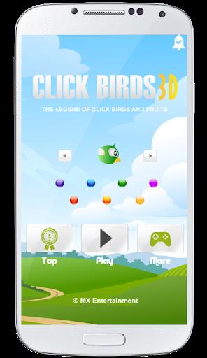 Click Birds 3D