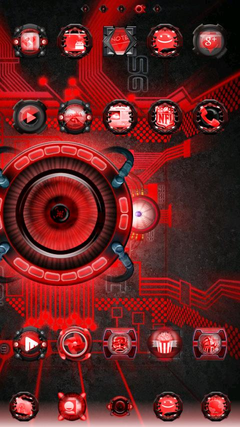 Bionic Live Wallpaper - screenshot