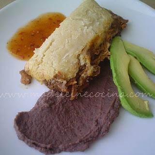 Oaxaca Style Tamales.