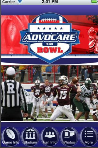 Advocare Bowl Shreveport - screenshot