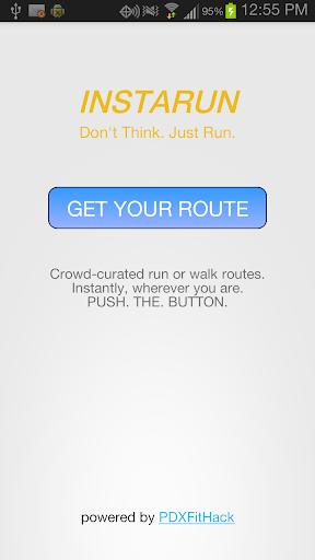instaRUN running route finder