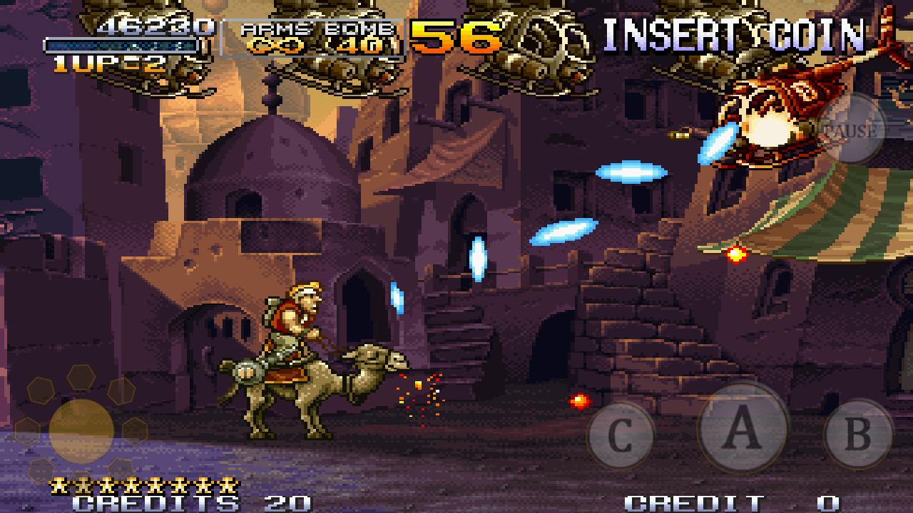 METAL SLUG X - screenshot
