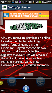 CinDaySports.com - screenshot thumbnail