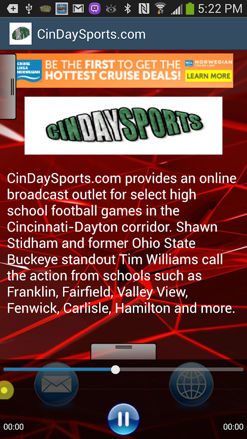 CinDaySports.com - screenshot