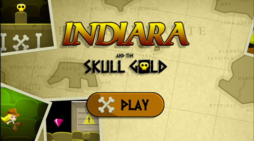 Indiara and the golden skull
