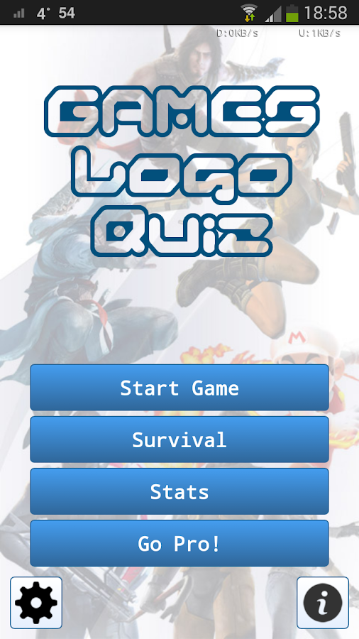 Games Logo Quiz - screenshot