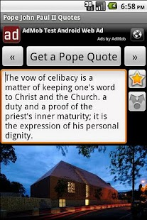 Pope John Paul II Quotes - screenshot thumbnail