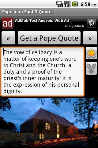 Pope John Paul II Quotes - screenshot
