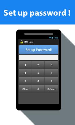 SMS Lock - screenshot