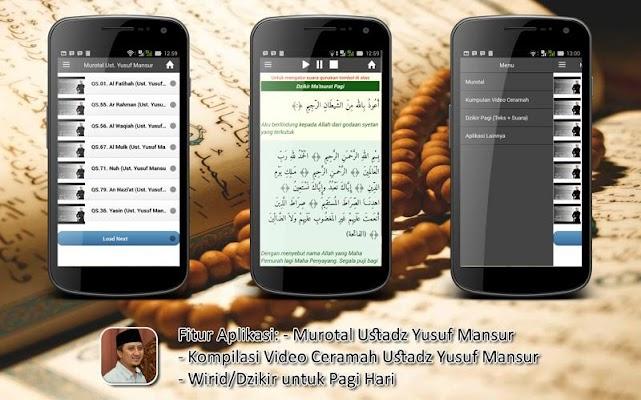 Ceramah Ust. Yusuf Mansur - screenshot