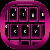 Pink Neon Keypad Free APK for Bluestacks