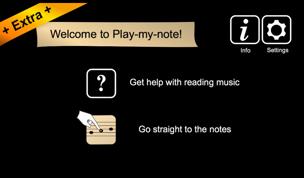 Play-my-note Extra- screenshot