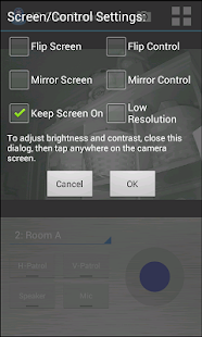 IP Cam Remote with Audio - screenshot thumbnail