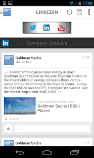 Goldman Sachs - Make an Impact - screenshot thumbnail